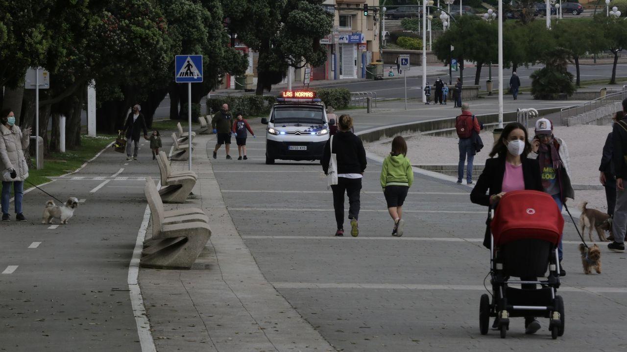 Paseos, hoy domingo, por A Coruña