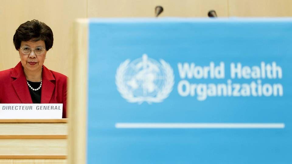 La directora general de la Organización Mundial de la Salud, la china Margaret Chan.