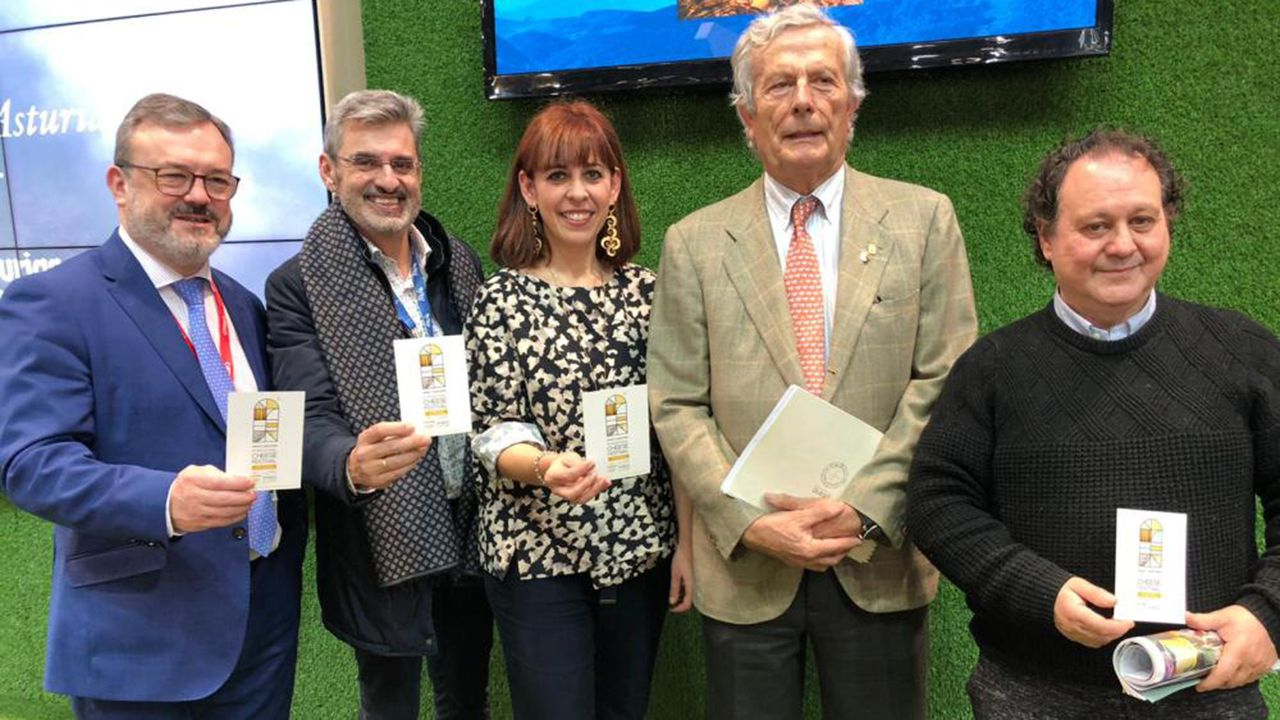 Presentación del Asturias Paraíso Natural International Cheese Festival 2020 en Fitur