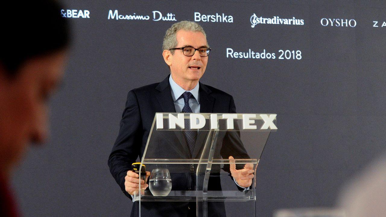 Pablo Isla presenta los resultados de Inditex para el 2018