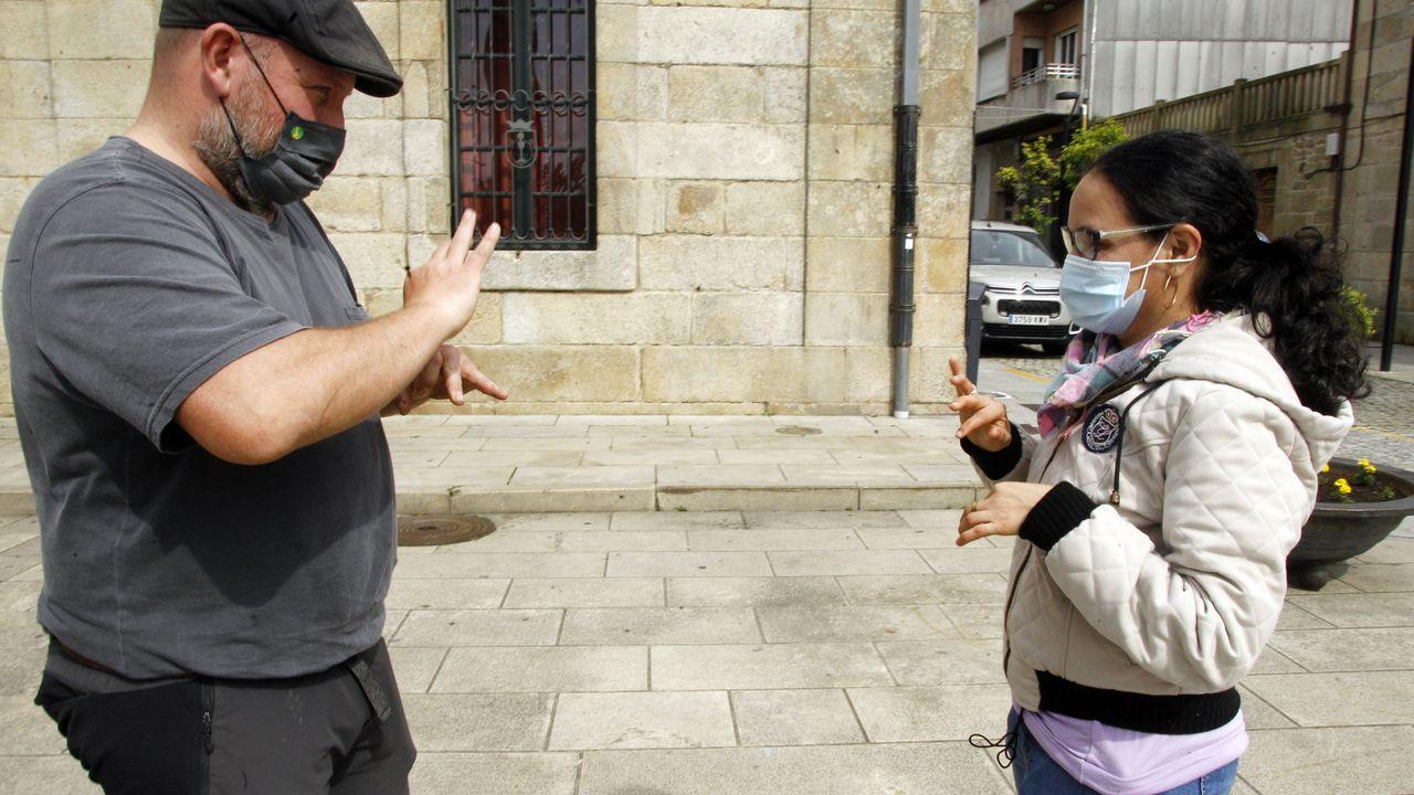 La dificultad de las personas sordas para comunicarse en tiempos de pandemia.El matadero comarcal de Viveiro, situado en A Chousa (Galdo), dejó de funcionar el pasado 30 de abril