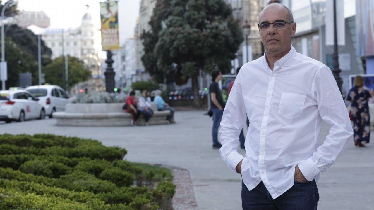 Touriñán prepara o torneo de pádel con Martín Piñeiro