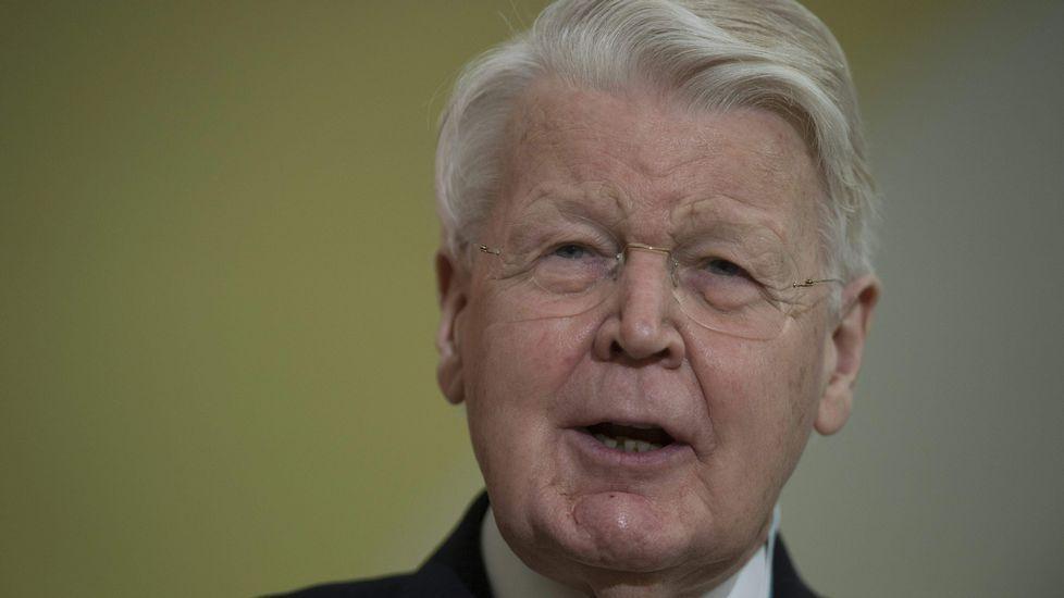 Olafur Ragnar Grimsson, presidente de Islandia desde hace 20 años