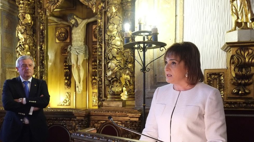 María José López Couso es la vicerrectora de Titulacións e Captación Internacional de la Universidade de Santiago (USC)
