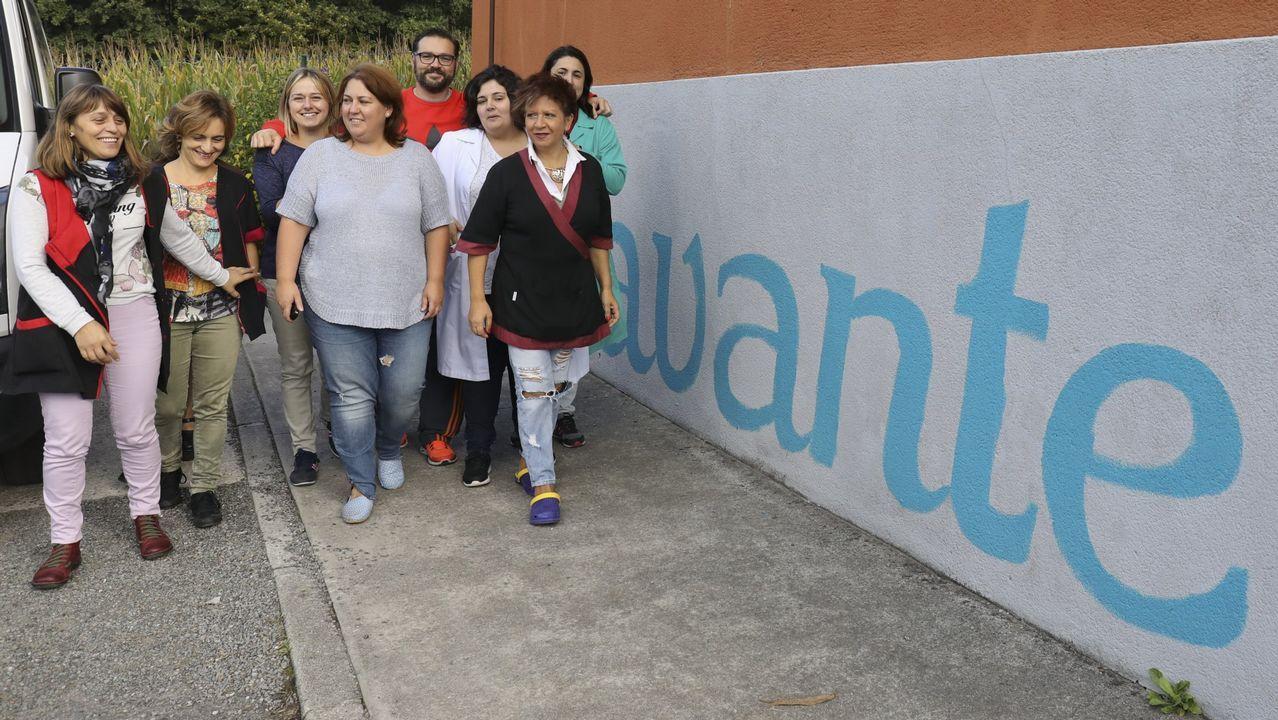 La asociación Avante atiende en su centro a personas funcionalmente diversas.INDARA RODRÍGUEZ