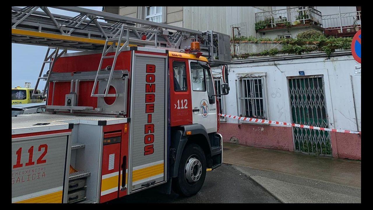 ¡Estas son las huellasde los temporales en Barbanza!.A Coruña. Mercadillo solidario de Isabel Ruiz