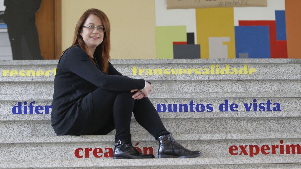 A profesora Rocío Romar