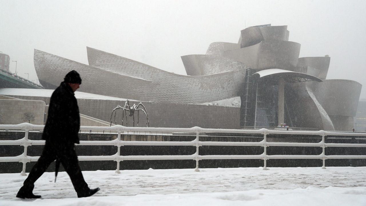 El norte de España se cubre de nieve