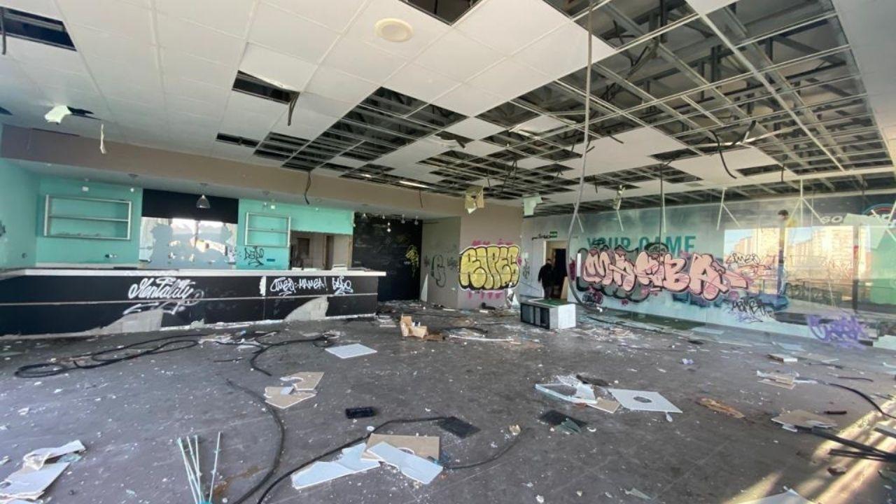 Interior de las instalaciones de Soccer World