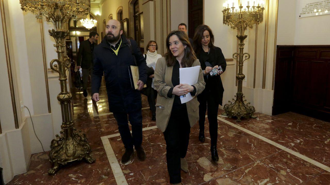 En directo | Sigue el pleno ordinario del Ayuntamiento de A Coruña.Beatriz Mato, en una foto de agosto del 2020 en Ourol