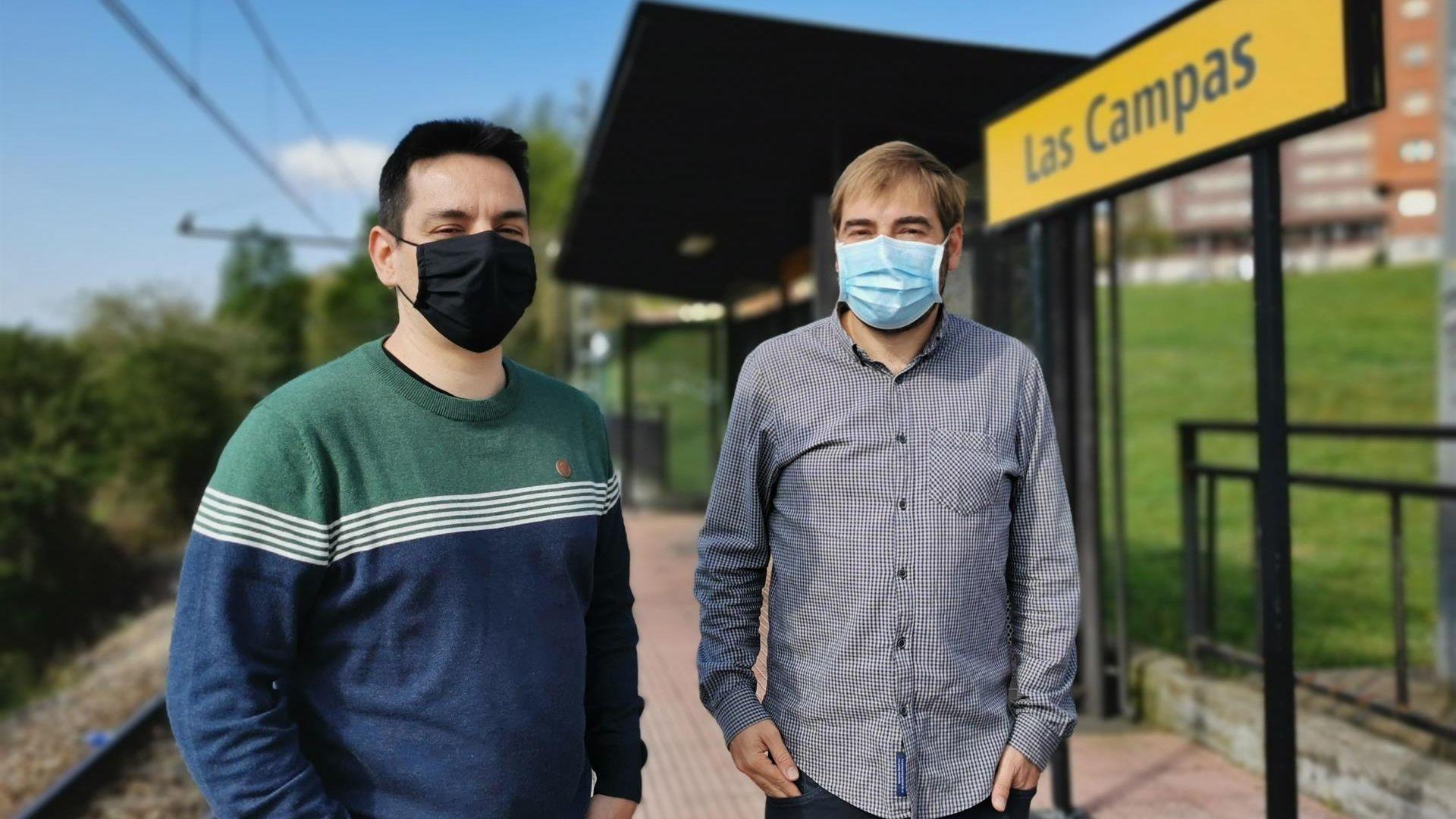 Del Páramo y Daniel Ripa en Las Campas