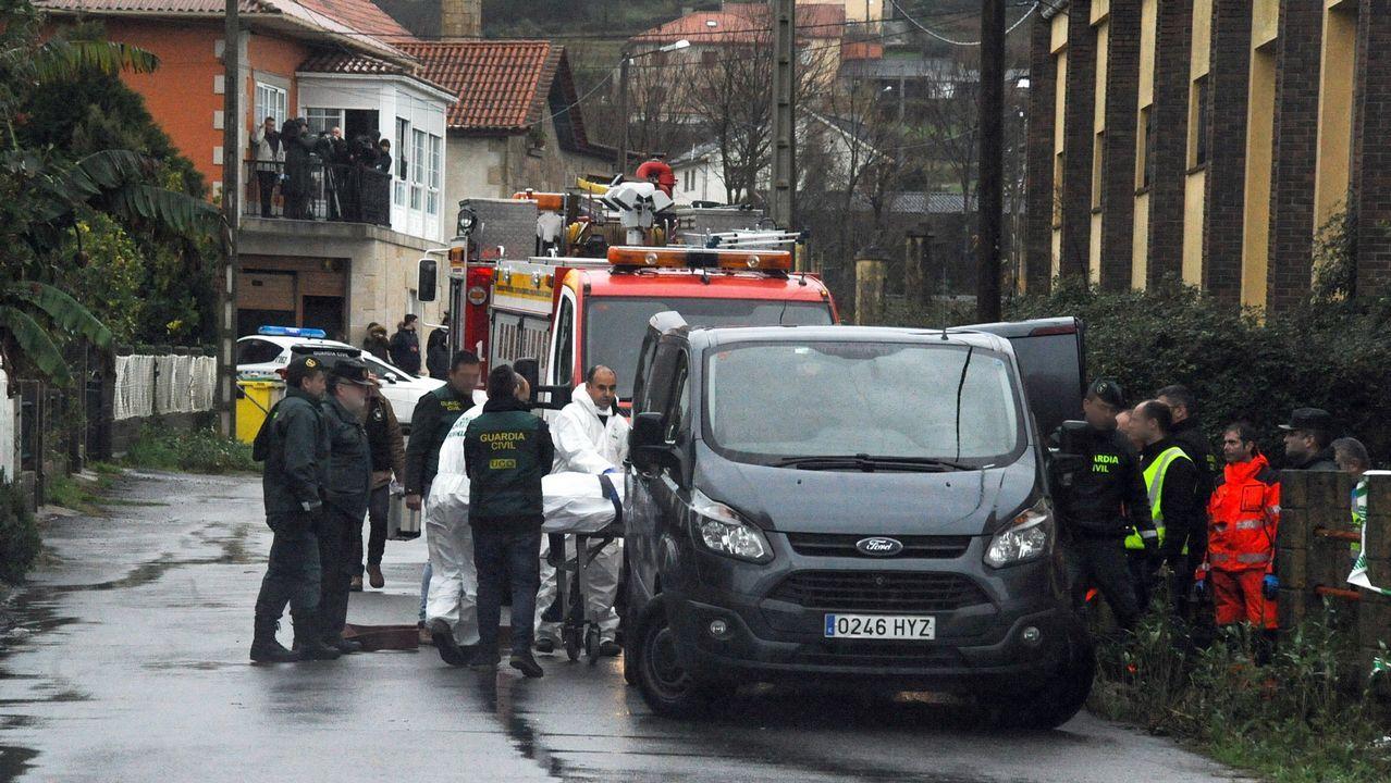 El cuerpo de Diana Quer fue localizado en la nave de Asados el 31 de diciembre de 2017