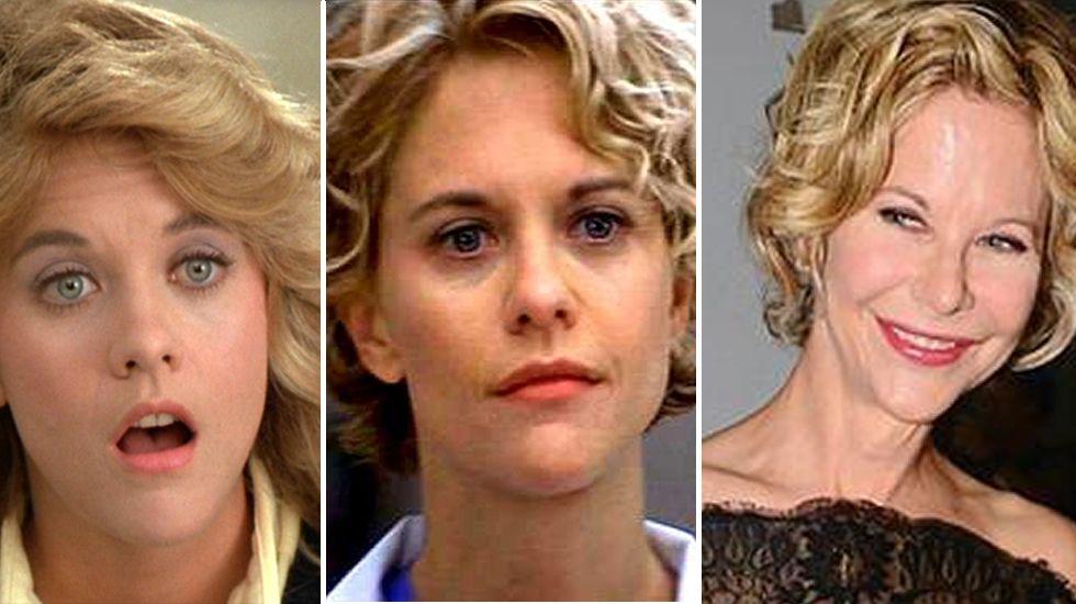 La evolución de Meg Ryan