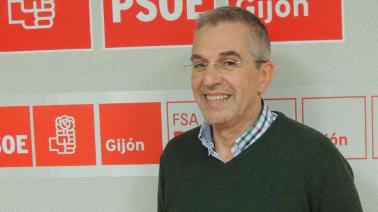 El concejal de Policía Local y Urbanismo del Ayuntamiento de Gijón, José Luis Fernádez