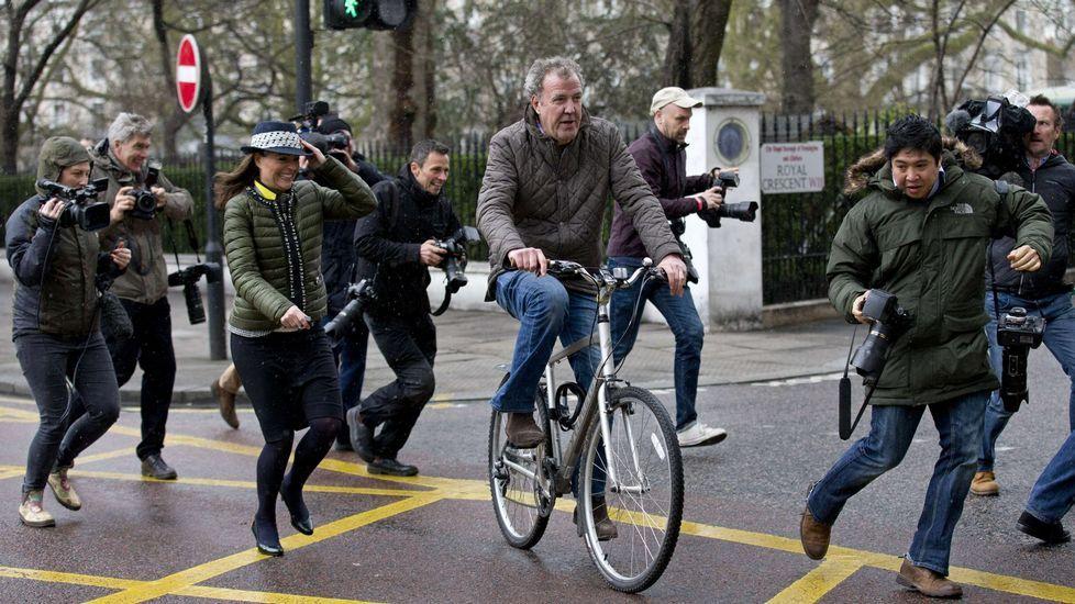 Jeremy Clarkson, en Londres