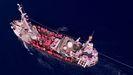 El barco alemán Eleonore lleva a bordo a unos 110 migrantes rescatados frente a Libia