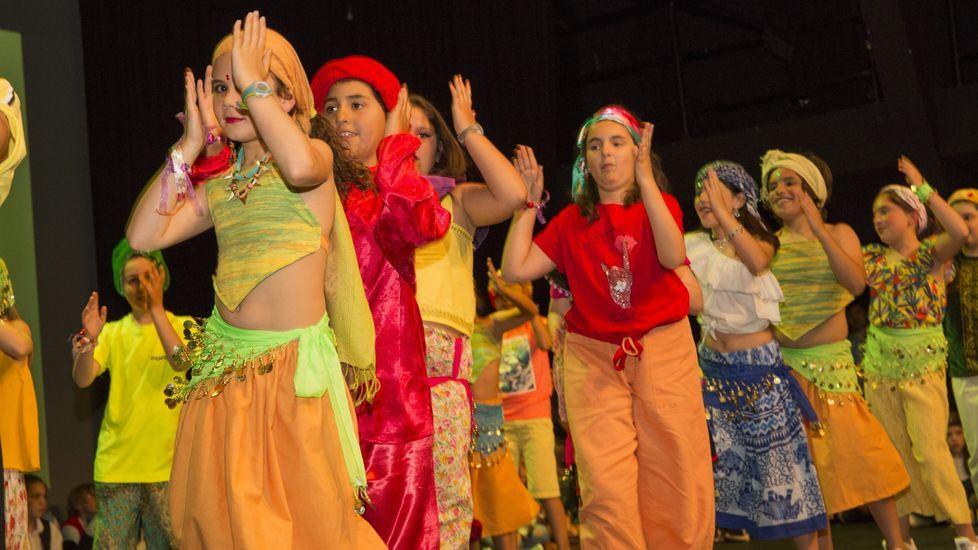 Así fue el festival de fin de curso del colegio A Cristina: ¡las imágenes!