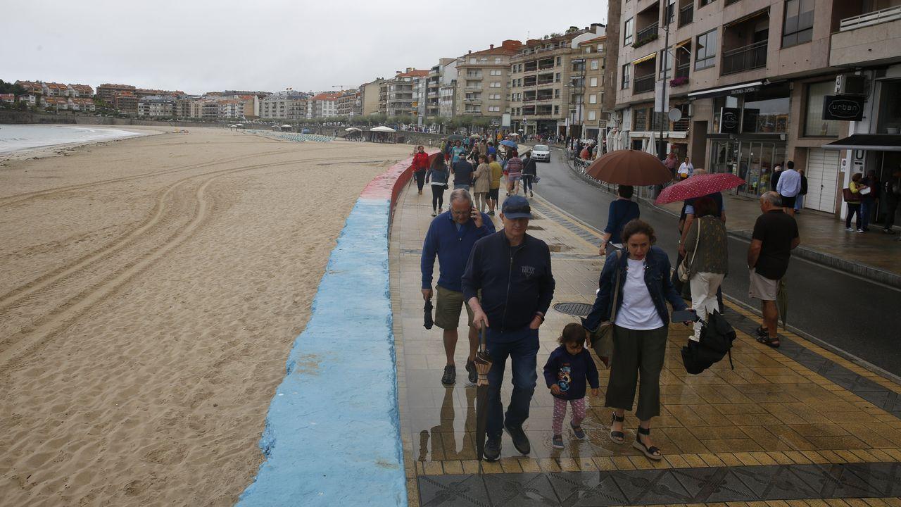 Los paraguas volverán a aparecer mañana en nuestra comunidad que será atravesada por varios frentes