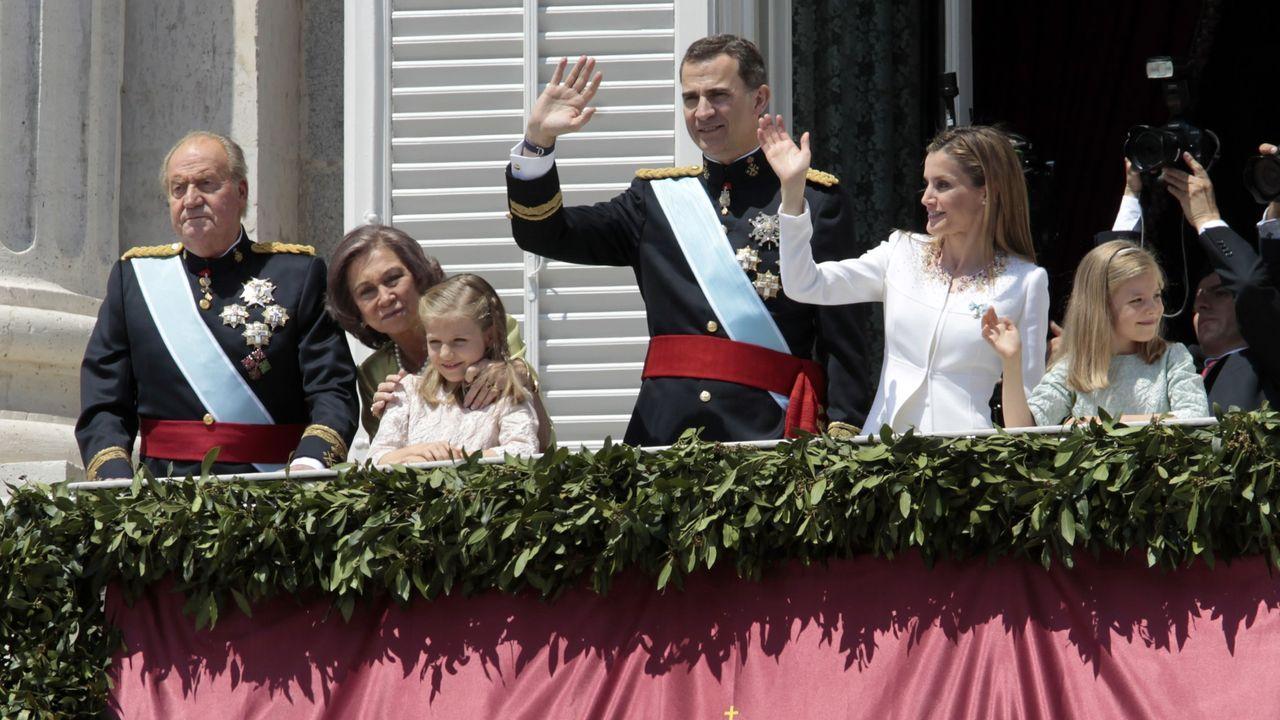 El 19 de junio del 2014 Felipe VI fue proclamado rey