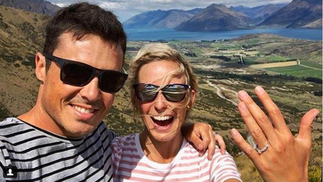 Gómez Noya y Anneke Jenkins, en Nueva Zelanda
