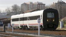 Uno de los trenes que cubre el trayecto entre A Coruña y Ferrol
