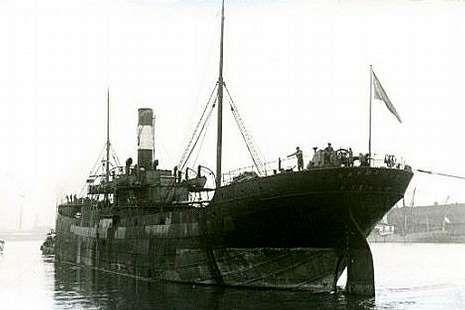 El «Banderas» fue hundido por un submarino alemán.