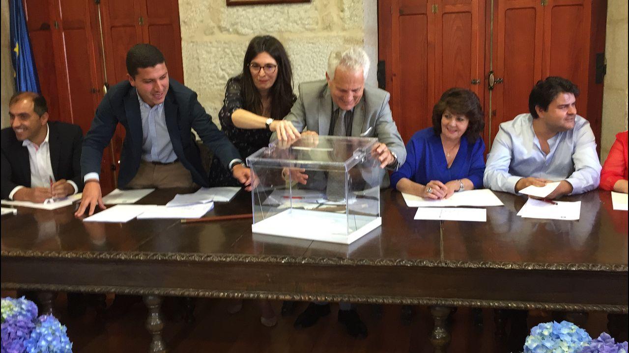 Katy Varela, el pasado sábado, en su toma de posesión como concejala del PP