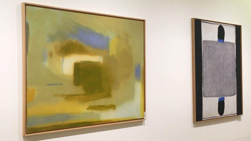 Dos de les obres de la esposición