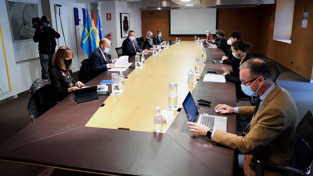 Reunión del Consejo de Gobierno de Asturias