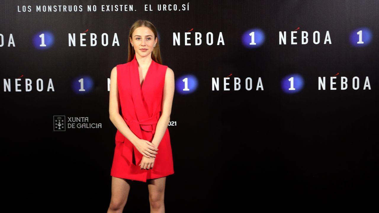 Denisse Peña, actriz de Néboa