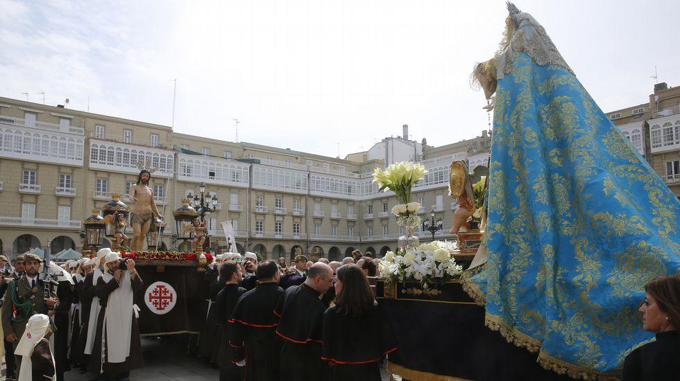 Procesión del Resucitado y la Esperanza (A Coruña).