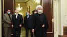El presidente iraní, Hasán Rohaní