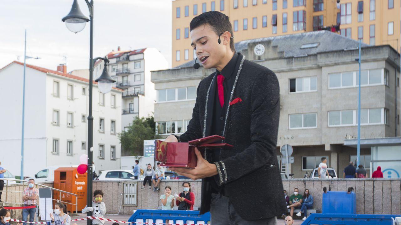 Dani Polo, en la imagen, estará acompañado por el Mago Rafa