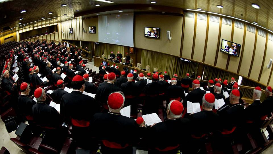 Arranca la congregación de cardenales para preparar el cónclave papal