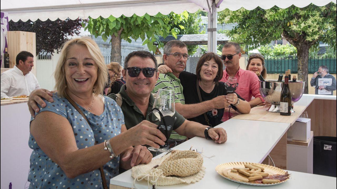 Imágenes que dejó la segunda jornada del Festival do Viño