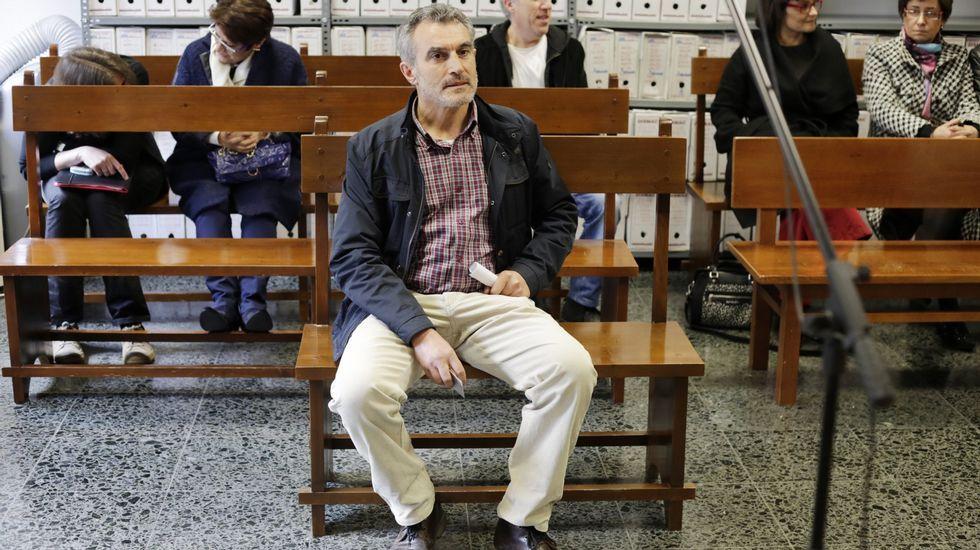 Xosé Xaquín Rodríguez Ambrosio, durante el juicio