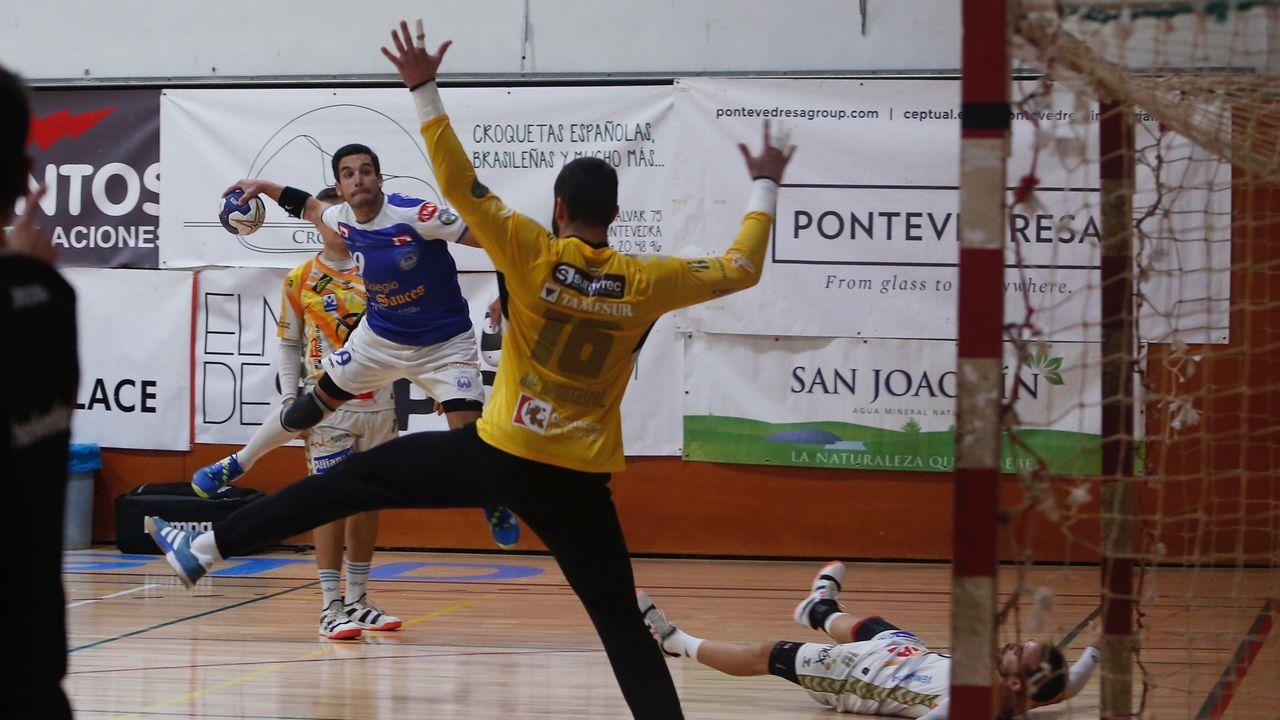 Javi Rozada en el Real Oviedo-Girona