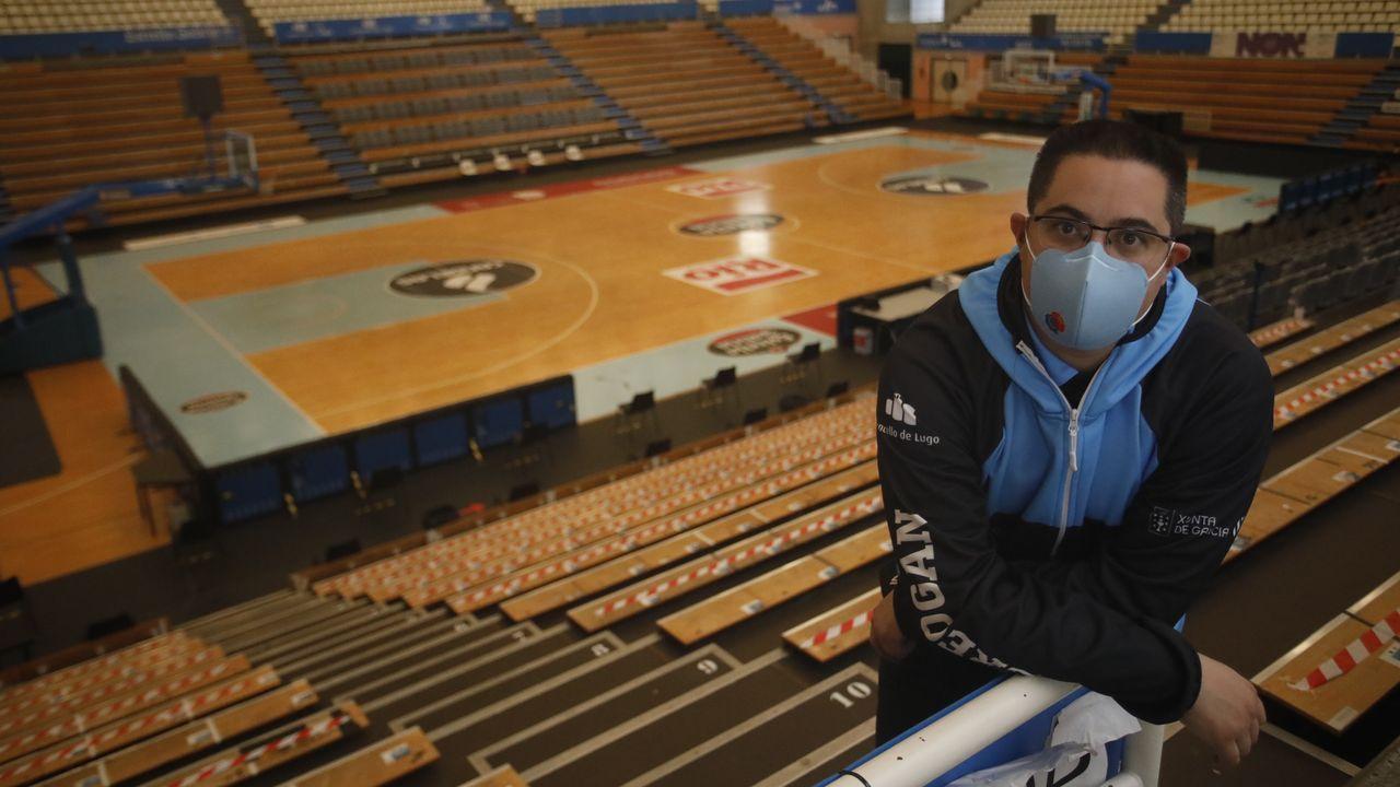 Diego Epifanio, entrenador del Leche Río Breogán