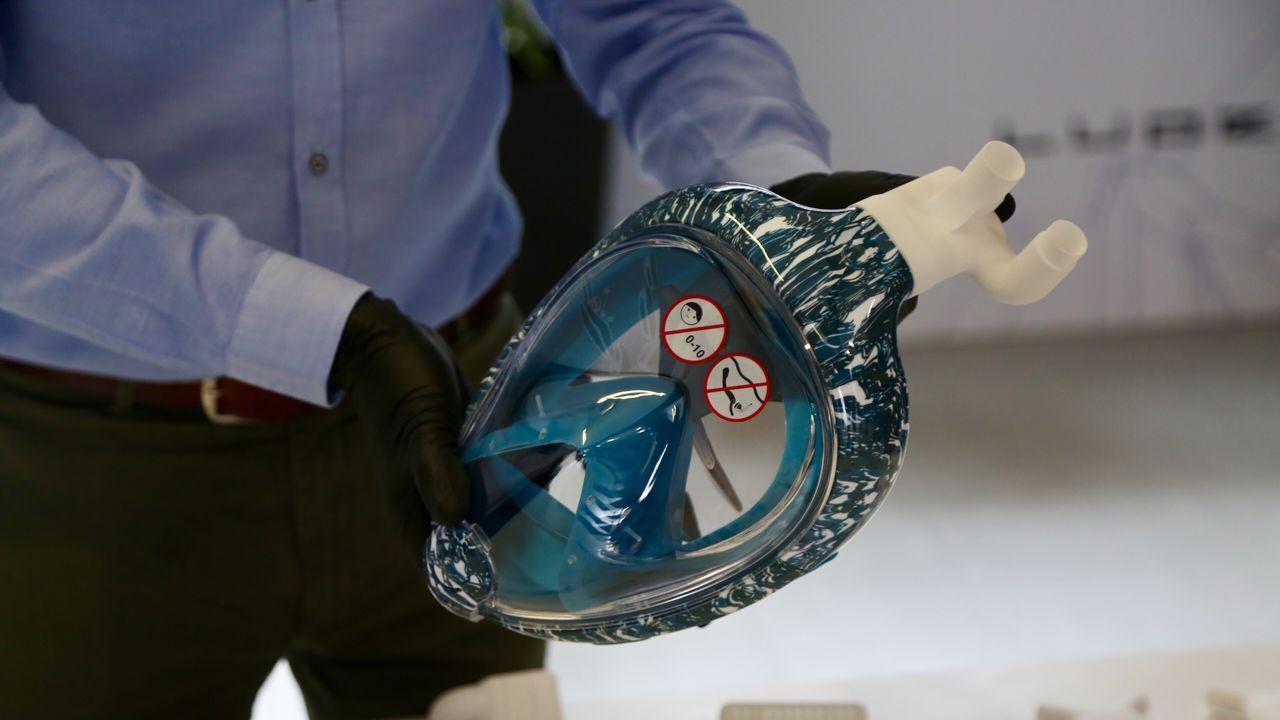 Imprimen respiradores en 3D adaptables a máscaras de buceo para proteger a pacientes de COVID-19 y sanitarios.NO ES UN SECUESTRO REAL. La principal recomendación de la Policía Nacional para evitar ser víctima de un secuestro virtual es no pagar nunca