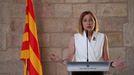 La expresidenta del Parlament catalán, Carme Forcadell