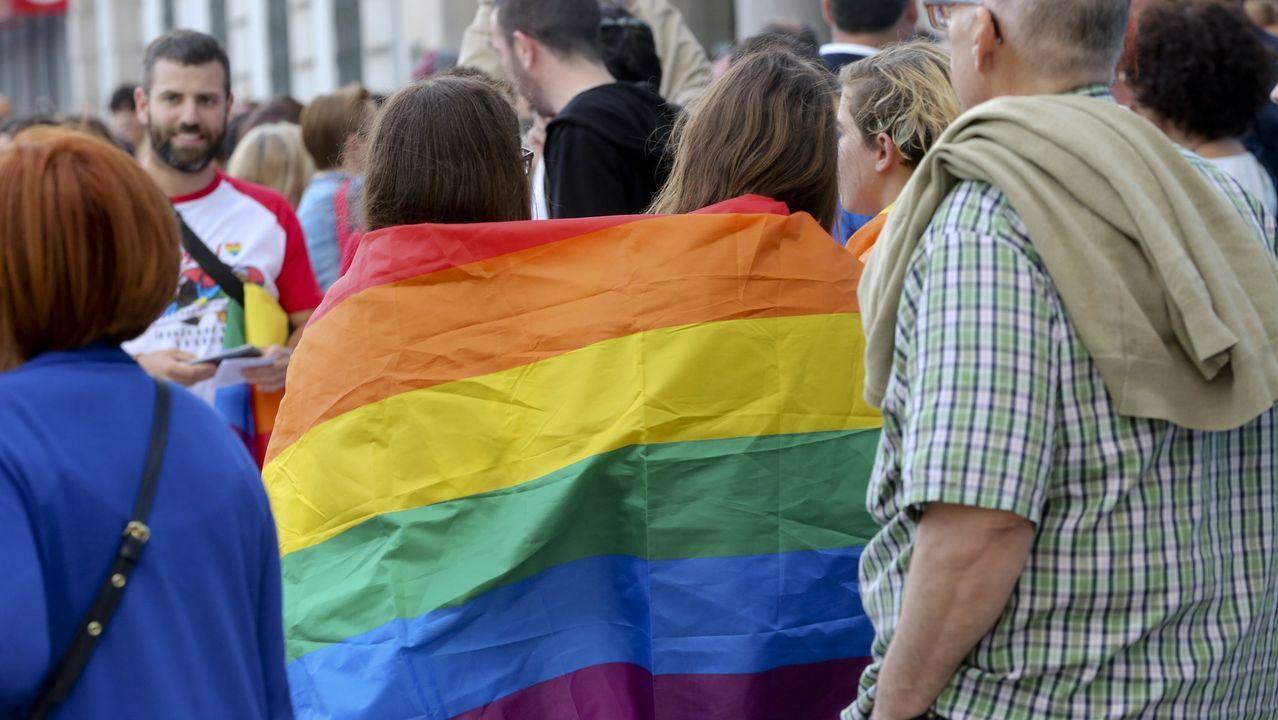 Imagen de archivo de la marcha del Orgullo LGTBIQ+ 2019 en A Coruña