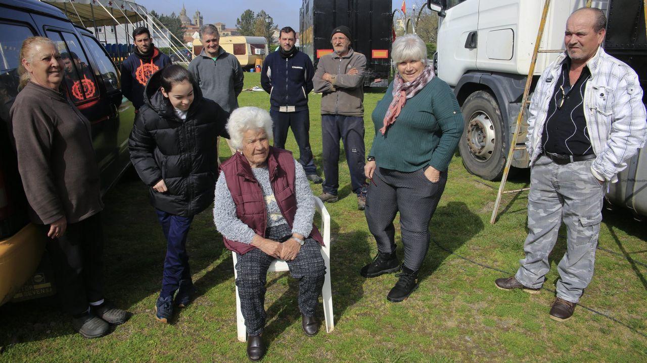 Los integrantes del Circo Nevada están en Monforte desde el comienzo de la crisis sanitaria