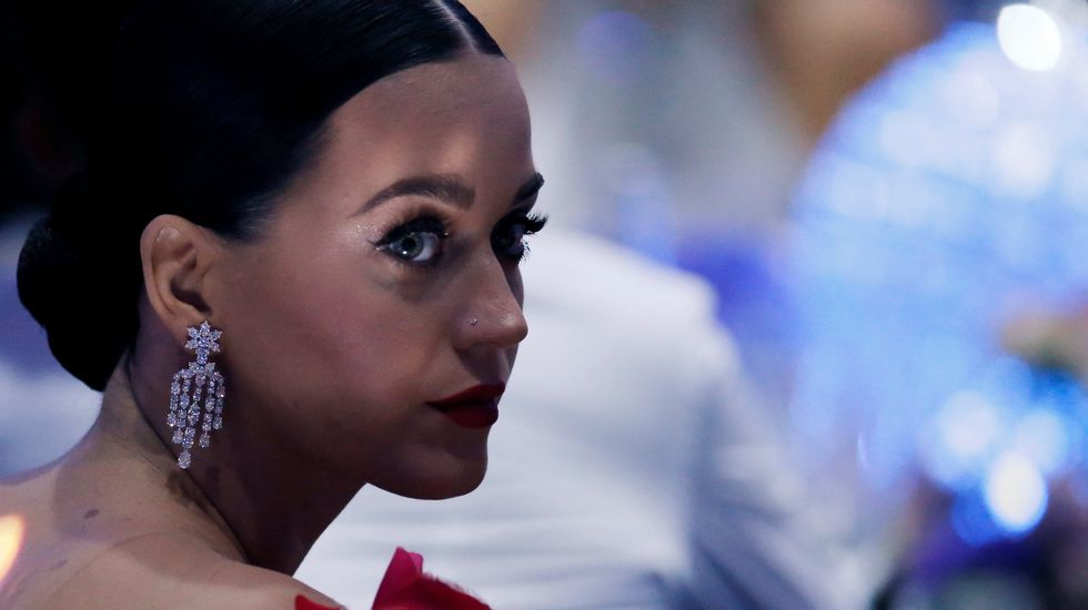 La cantante Katy Perry