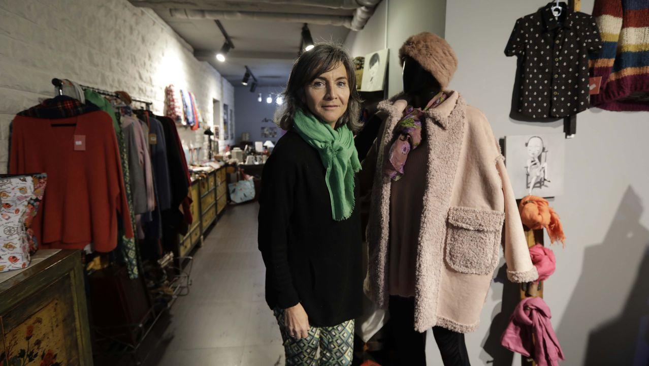 Patricia abrió Arela, un bazar referente en la venta de productos exclusivos asiáticos como fulares de bambú, muebles antiguos, bolsos o pinturas, hace diez años
