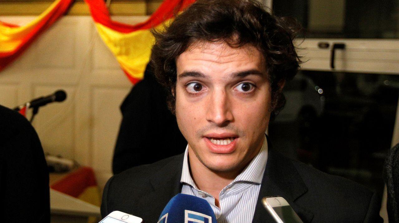 El cabeza de lista de Vox al Congreso por Asturias, José María Figaredo