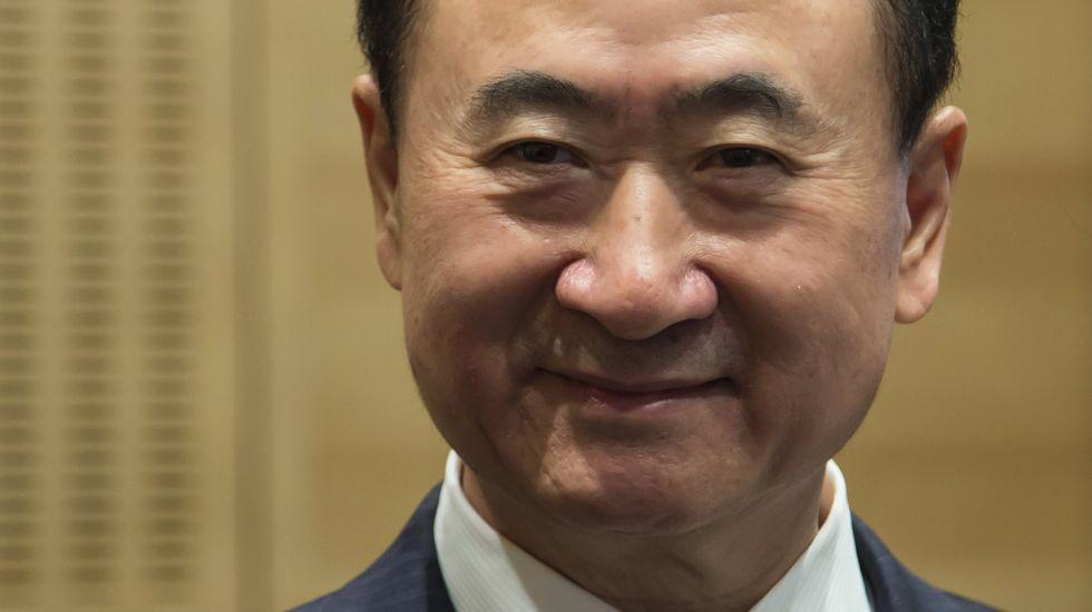 El millonario chino Wang Jianlin
