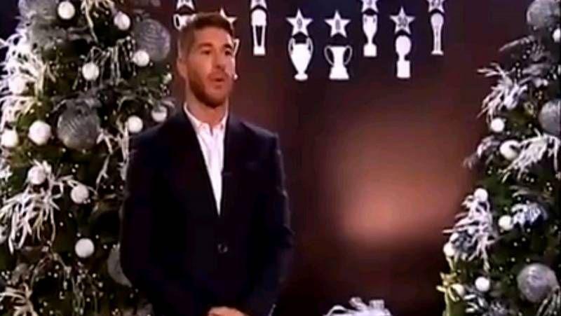 El «Morry Christmas» de Sergio Ramos