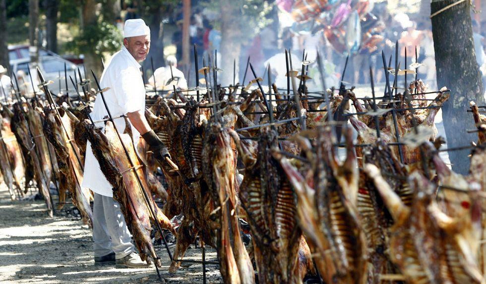 Rapa das bestas en Amil
