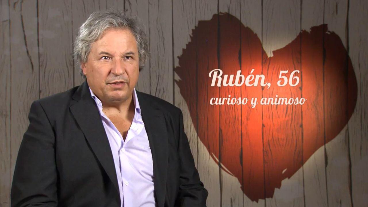 Rubén, el profesor de universidad que se presentó a First Dates