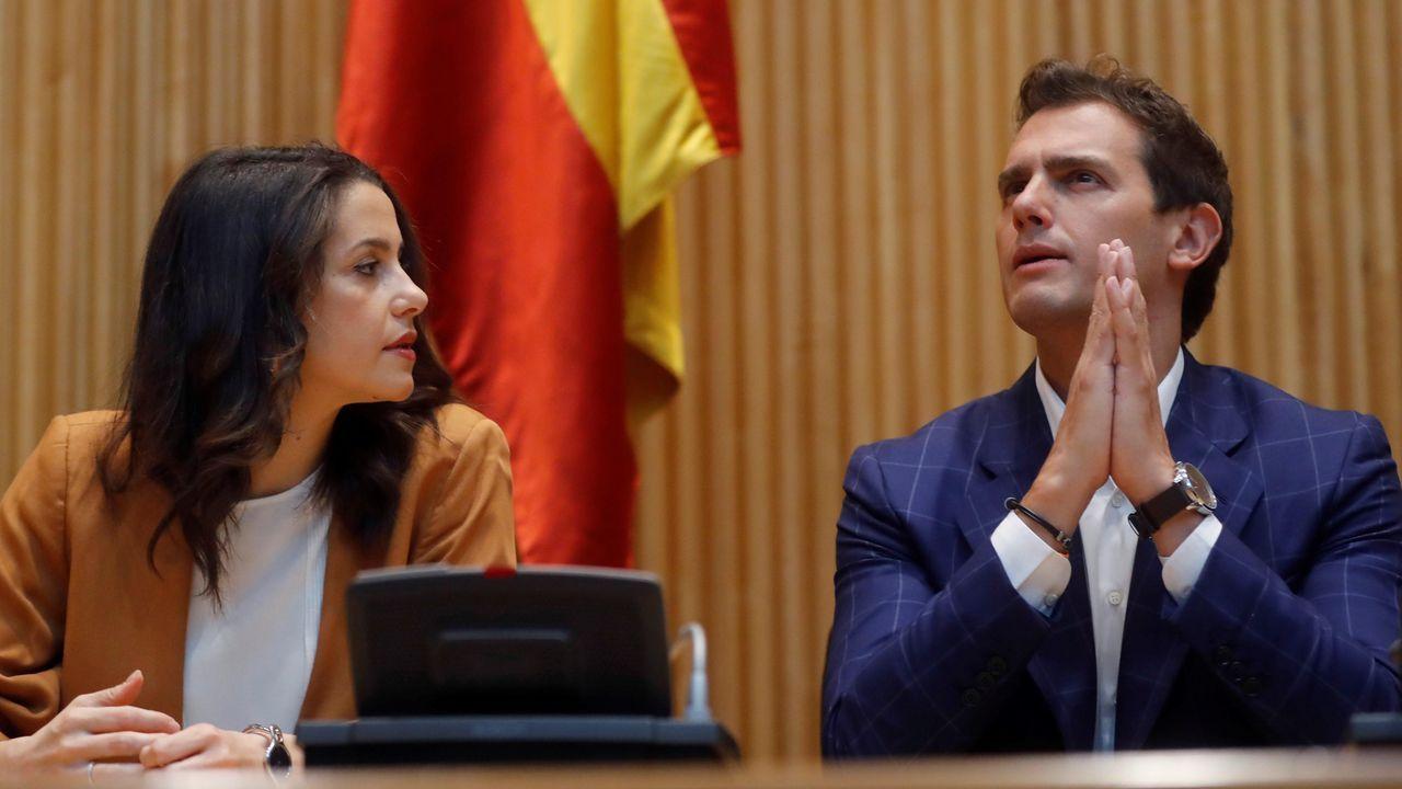 Albert Rivera afeó a Sánchez que haga consultas con otros líderes políticos, ya que «no es el rey ni el jefe de Estado, dijo
